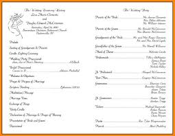 wedding ceremony program templates wedding ceremony program templates endo re enhance dental co