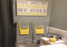 yellow and grey bathroom decorating ideas yellow and gray bathrooms home inspiration ideas