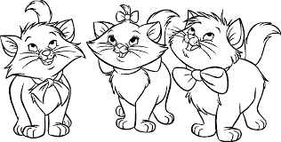 coloring pages cats and kittens coloring pages free and printable