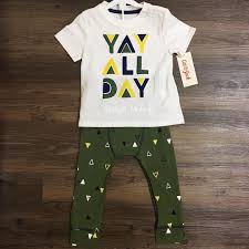Baby Boy Clothes Target Baby Boys U0027 2pc Yay All Day T Shirt And Jogger Set Cat U0026 Jack