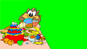 baby taz eating birthday cake baby looney tunes coloring pages