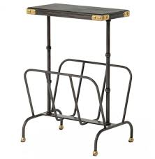 Argos Side Tables Furniture Tasty Hobart Iron Waxed Black Industrial Loft Magazine