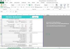 Form To Spreadsheet Pricing Template Business Form Shop Spreadsheet Excel Or