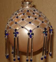 97 best beaded ornaments images on beaded