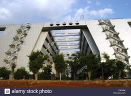 modern buildings at hi tech city in hyderabad andhra pradesh
