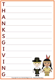 34 best thanksgiving paper letter images on paper