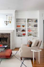 Bookshelf Designs Built In Bookshelf Designs Family Room Transitional With Stone