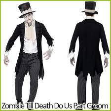 Dead Bride Costume Corpse Bride Costume Corpse Groom Halloween Zombie Ghost Death