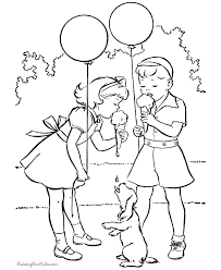 coloring lovely color kids colouring pages