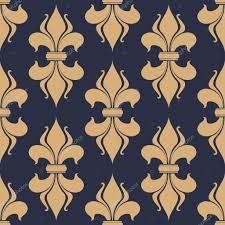 classic french fleur de lis seamless pattern u2014 stock vector