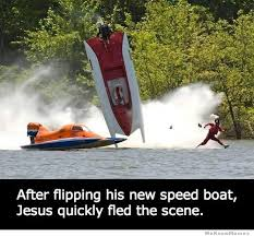 Boat People Meme - speed boat jesus weknowmemes