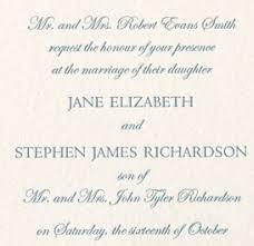 wedding invitation wording etiquette proper wedding invitation wording amulette jewelry
