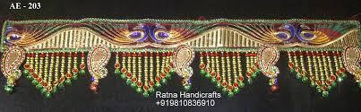 Decorative Handicrafts Toran For Diwali Decoration U0026 Home Decor
