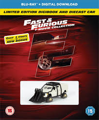 fast and furious 1 cars fast and furious 1 7 bonus disc boxset limited edition digibook