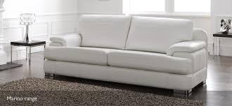 Leather White Sofa Sofas Uk Leather Centerfieldbar Com