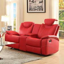 Chaise Lounge Red Red Leather Chaise Lounge Reclining Sofa Pic 87 Chaise Design
