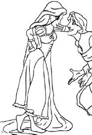 free tangled coloring pages sensational inspiration ideas rapunzel and flynn coloring pages 8