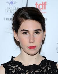 zosia mamet in arrivals at the lucille lortel awards zimbio