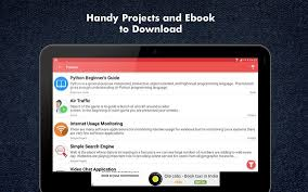 python tutorial ebook learn python programming apk download free education app for
