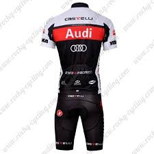 audi cycling jersey 2011 team audi cycle clothing biking jersey and padded shorts
