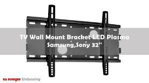 Extended Tv Wall Mount Tv Wall Mount Bracket Led Plasma For Samsung Sony 32 U0027 U0027 Youtube