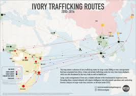 Gabon Africa Map by The Tangled Routes Of Global Elephant Ivory Trafficking U2013 Eia