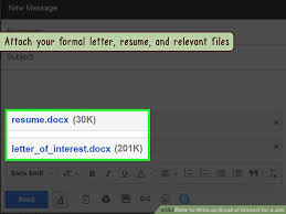How To Send A Resume Through Email How To Write An Email Of Interest For A Job 13 Steps