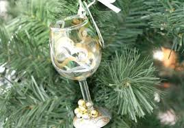 wine glass christmas ornaments oenophile ornaments mini wine ornament collection