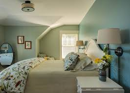Cottage Master Bedroom With Flush Light By Wright Ryan Homes - Home decorators bedroom