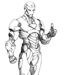 iron man shoot the enemies coloring pages3 coloring pages