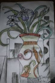 flower in vase drawing 34 best drawing images on pinterest drawings drawing art and draw