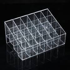 acrylic clear container makeup case cosmetic storage holder