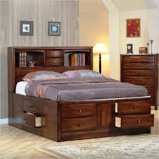 How To Build A Bed Frame With Storage Storage Diy Platform Bed Frame With Storage With Diy