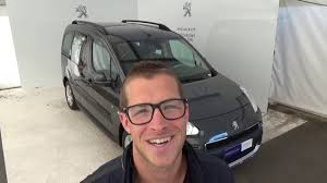 new peugeot partner tepee sw peugeot partner tepee 1 6 hdi115 fap outdoor 7 places youtube