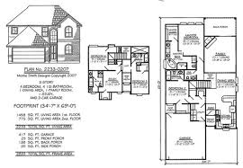 1 1 2 story floor plans narrow 2 story floor plans less than 36 feet wide