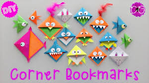 diy corner bookmarks easy u0026 fun youtube
