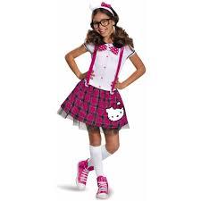 Tween Minnie Mouse Halloween Costume Kitty Tween Nerd Dress Halloween Costume Walmart