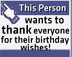birthday thank you quotes for