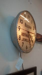 bulova wall clock from hoffman bros jewelers the people u0027s store
