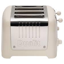 4 Slice Toaster White Buy Dualit Lite 4 Slice Toaster With Warming Rack John Lewis
