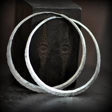 large silver hoop earrings 3 inch sterling silver hoops large hoop earrings crescent