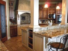 kitchen island columns kitchen with island columns craftsman kitchen seattle by