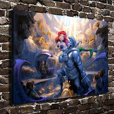 compare prices on mermaid art prints online shopping buy low