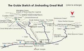 map ot great wall of china map travel maps of badaling mutianyu