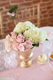 Baby Shower Flower Centerpieces French Inspired Sprinkle Baby Shower Pretty Pink And Ivory Flower