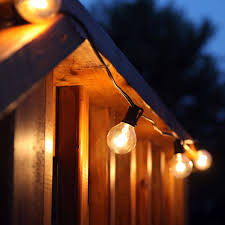 Globe Patio String Lights by Outdoor Light String 100ft Globe Patio String Lights 100 Foot