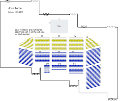 Grand Ole Opry Floor Plan Josh Turner Live In Concert Presented By Kentucky Legend And Bud