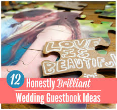 unique wedding guest books 15 insanely unique wedding guest book ideas craft paper scissors