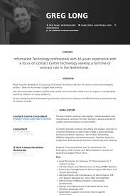 Technical Consultant Resume Sample by Real Cv Examples U0026 Resume Samples Visual Cv Free Samples Database