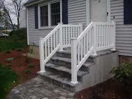 vinyl stair railing kits home design styles